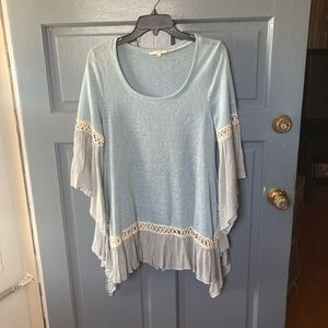 Blue Easel Top
